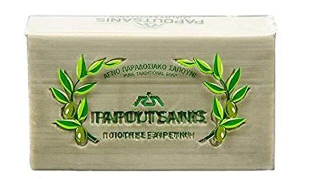 250 g Tradičné prírodné olivové mydlo (zelené)