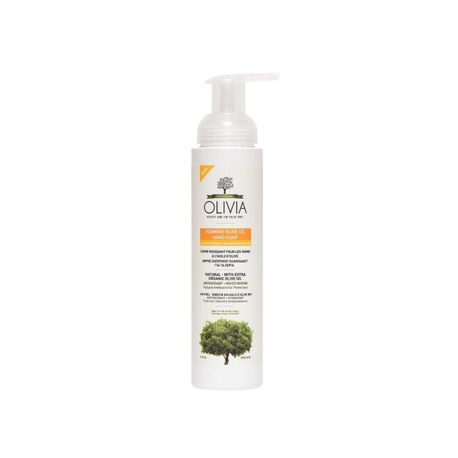 265 ml Prírodné olivové penové mydlo Olivia s výťažkom verbeny