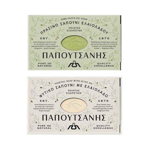 2 x 125 g Balíček tradičných prírodných olivových mydiel
