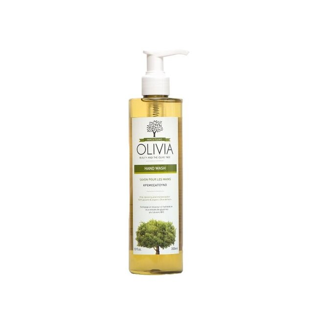300 ml Prírodné olivové tekuté mydlo Olivia