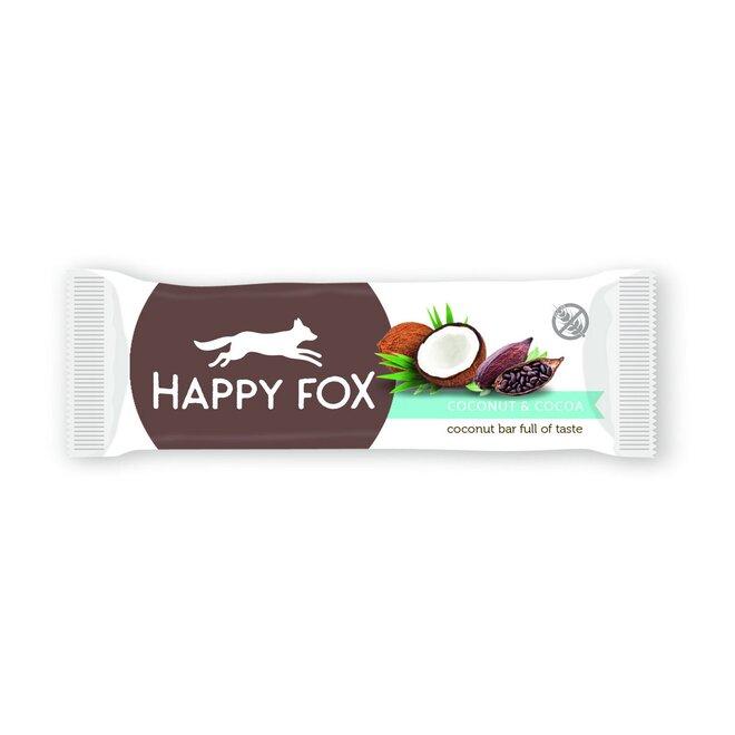 50 g Kokosová tyčinka s kakaom HAPPY FOX