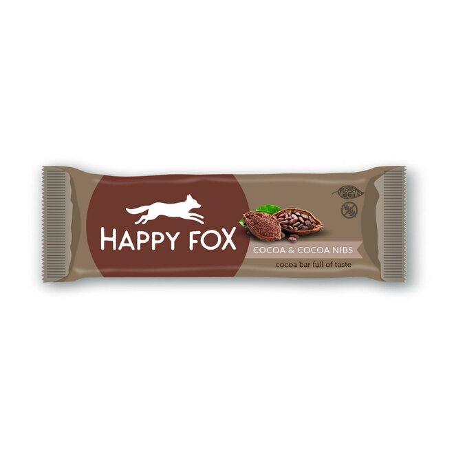 50 g Kakaová tyčinka s kakaovými bôbmi HAPPY FOX