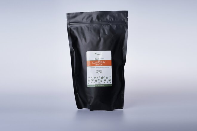 500 g Konopný proteín