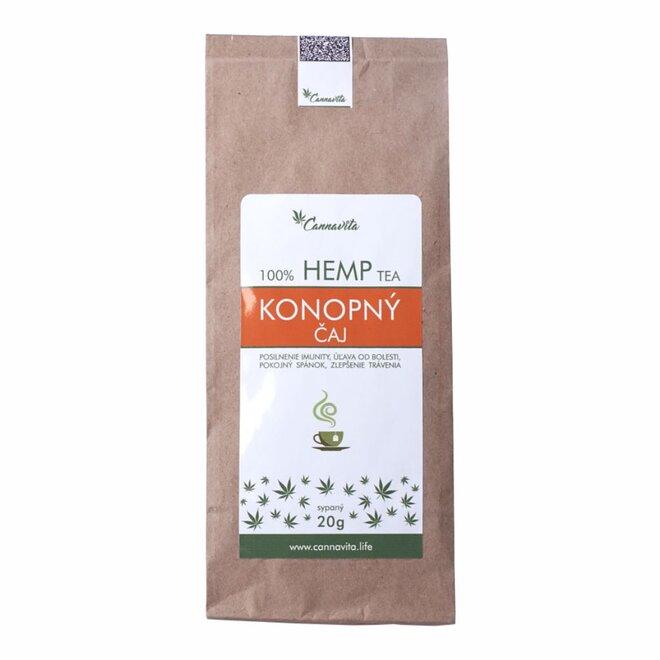 20 g Konopný čaj (sypaný)