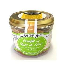 180 g Francúzsky confit z bravčovej pečene (paprika a olivy)