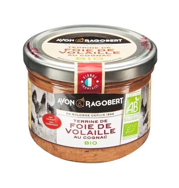 180 g BIO Francúzska terina z hydinovej pečene (koňak)