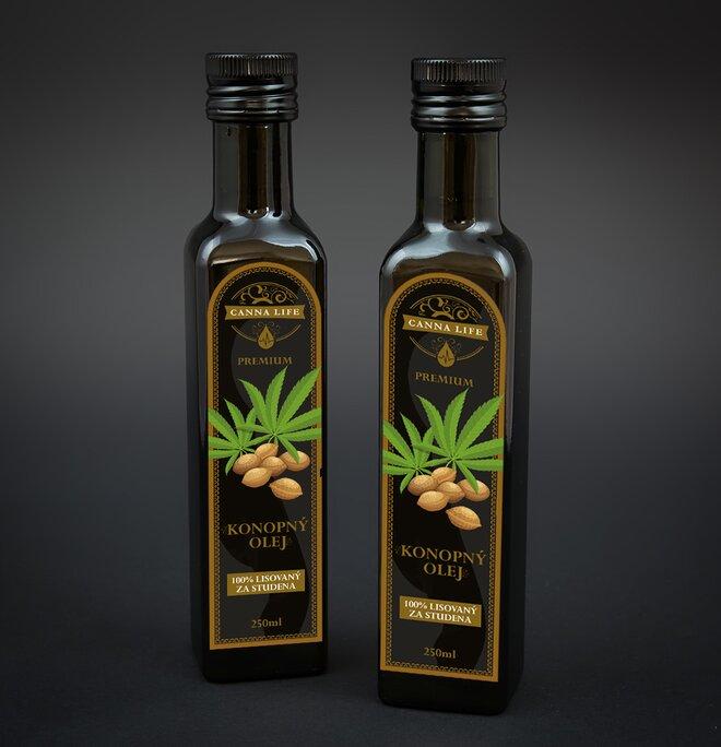 250 ml Konopný olej