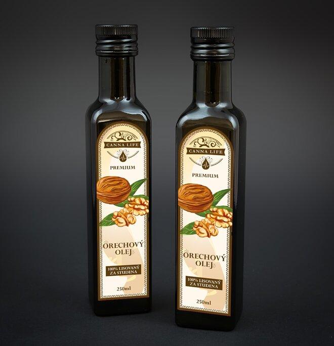 250 ml Olej z vlašských orechov