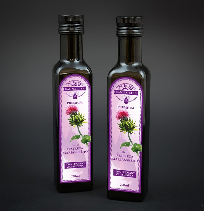 250 ml Pestrecový olej
