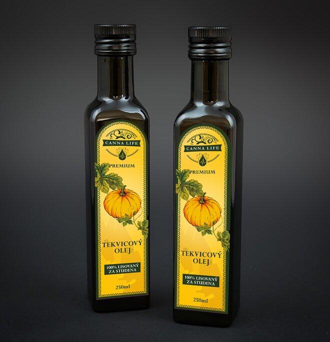 250 ml Tekvicový olej