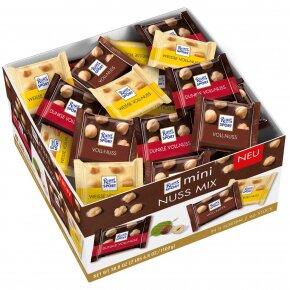 1100 g Ritter Sport čokolády (orieškový mix)