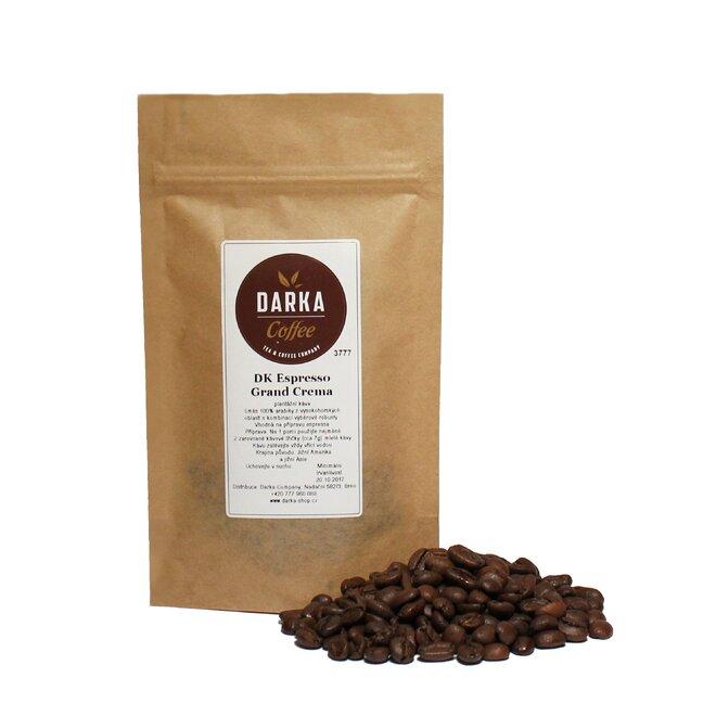 250 g Káva DK Espresso Grand Crema (zrnková)