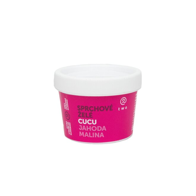 100 g Sprchové želé CUCU (jahoda + malina)