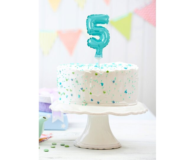Balón na tortu číslo 5 - Veľkosť 13 cm