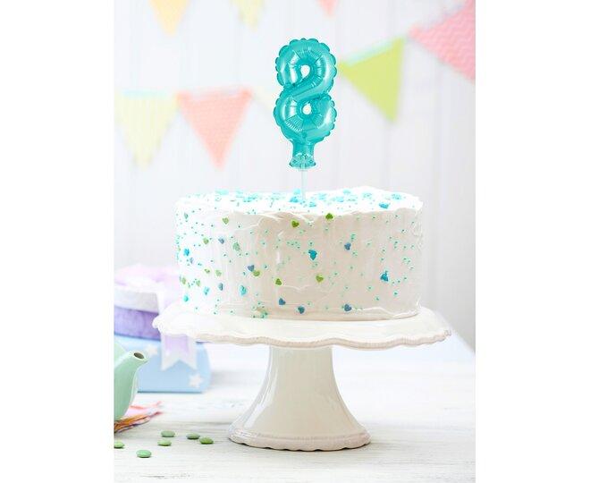 Balón na tortu číslo 8 - Veľkosť 13 cm