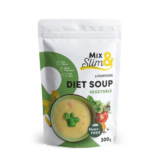300 g Diétna polievka Mix & Slim - zeleninová (6 porcií)