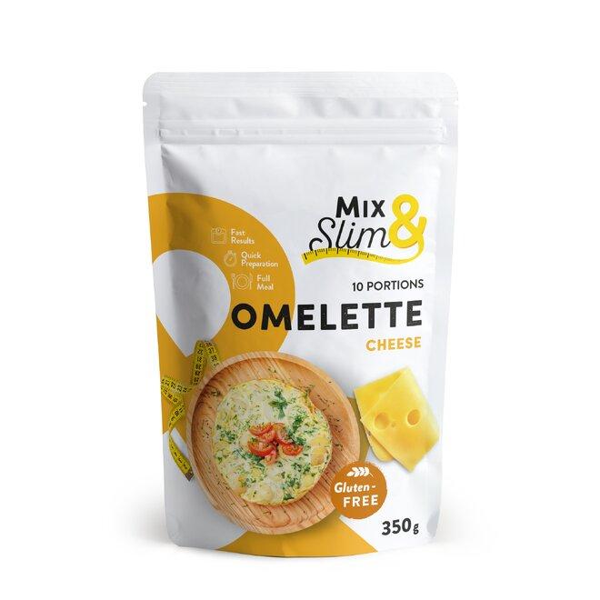 350 g Proteínová diétna omeleta Mix & Slim - syrová (10 porcií)