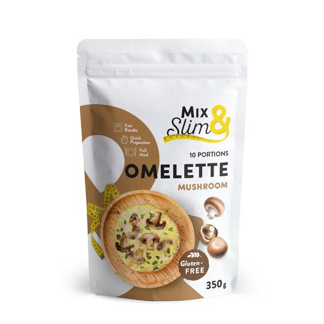350 g Proteínová diétna omeleta Mix & Slim - šampiňónová (10 porcií)