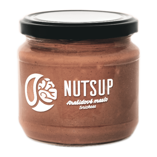 340 g Arašidové maslo snickees NutsUP