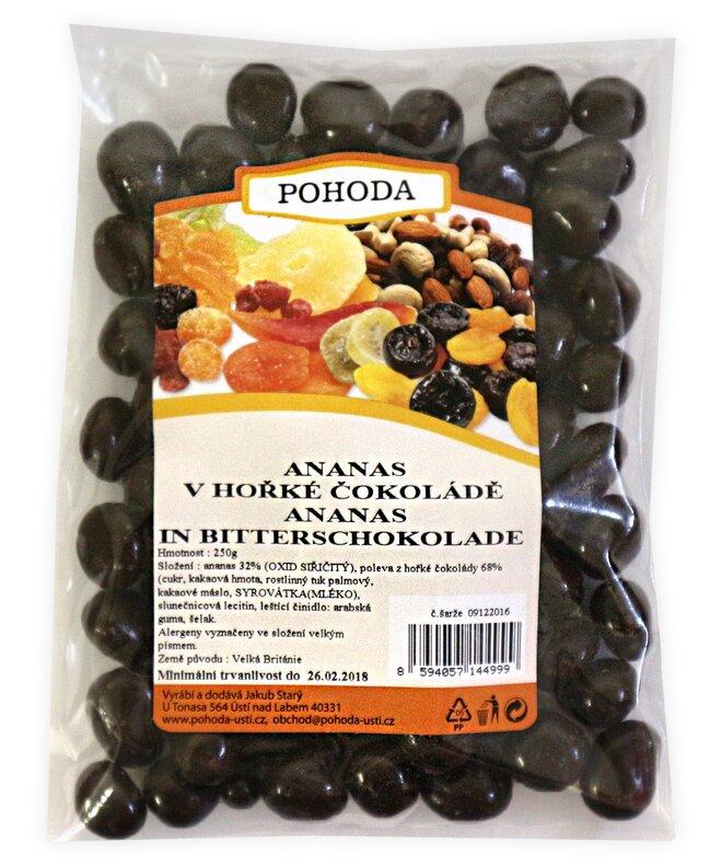250 g Ananás v horkej čokoláde