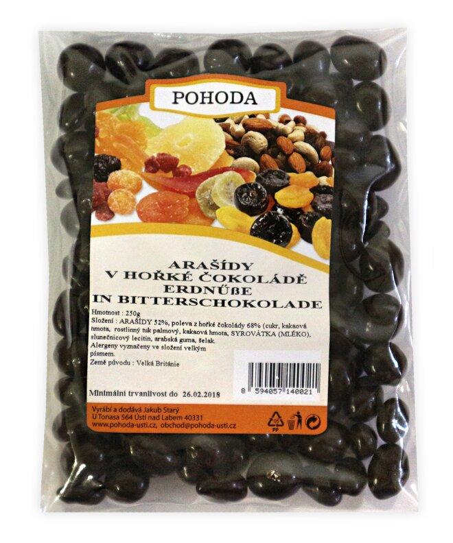 250 g Arašidy v horkej čokoláde