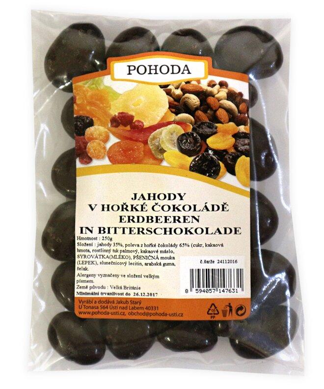 250 g Jahody v horkej čokoláde