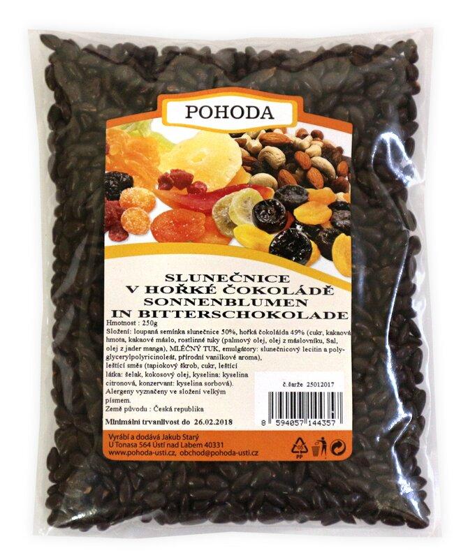 250 g Slnečnice v horkej čokoláde