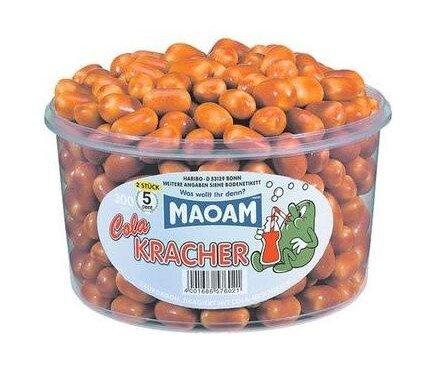 1200 g Karamelky MAOAM s príchuťou coly (265 cukríkov)
