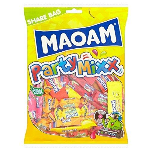 1000 g Mix cukroviniek Haribo MAOAM Joyxstix, Stripes, Bloxx, Happy Fruttis