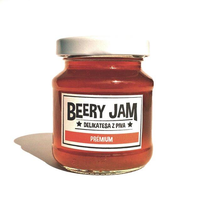 """145 ml Pivný džem slovenského výrobcu Beery Jam """"Prémium"""""""