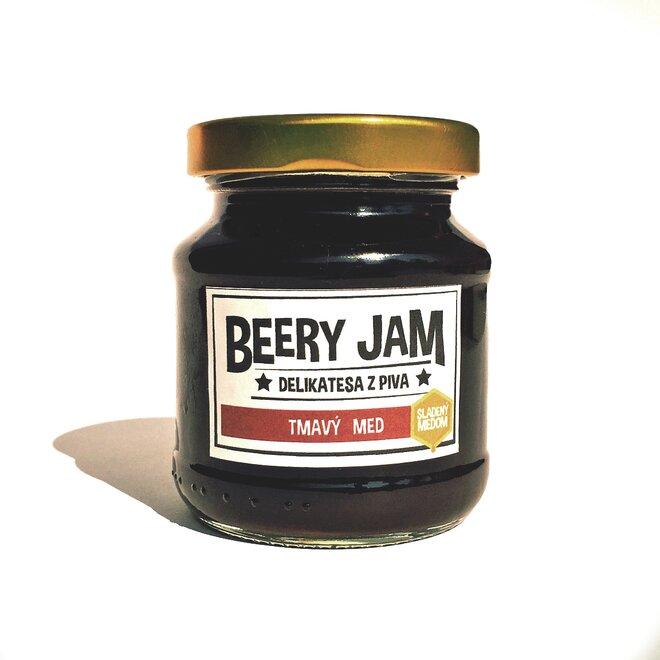"145 ml Pivný džem slovenského výrobcu Beery Jam ""Tmavý med"""