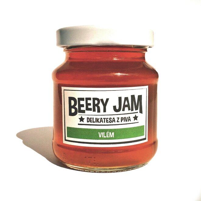 """145 ml Pivný džem slovenského výrobcu Beery Jam """"Vilém"""""""