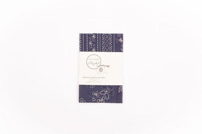 """Ekologický voskový obrúsok """"Modrotlač"""" (30 x 30 cm)"""