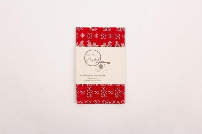 """Ekologický voskový obrúsok """"Čičmany"""" (35 x 35 cm)"""