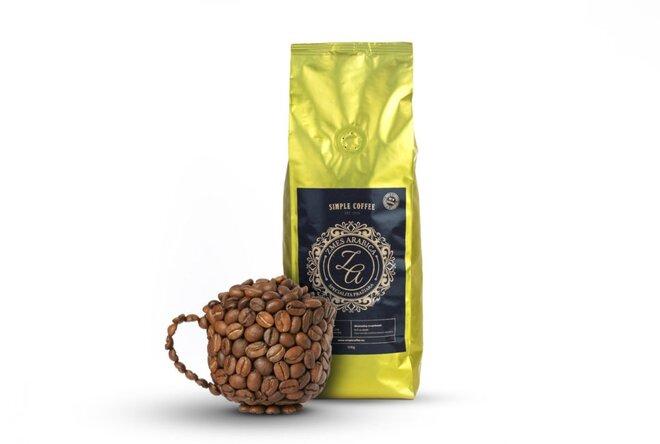 500 g Zmes arabica kávy pražená na Slovensku (Kostarika + India + Brazília)