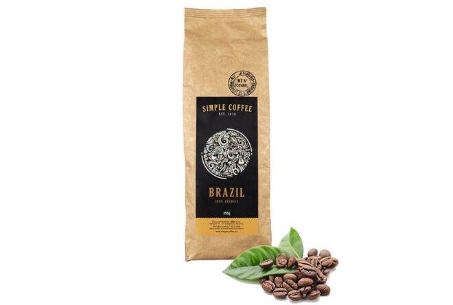 """Zrnková káva """"Brazil Cerrado"""" pražená na Slovensku (Brazília)"""