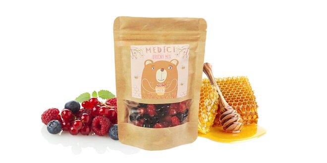 """110 g Balenie medovo-ovocných mackov """"Medíci"""" (ovocný mix)"""