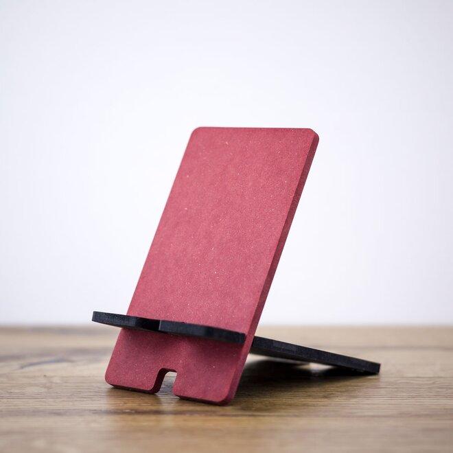 Stojan na mobil (červená + čierna)