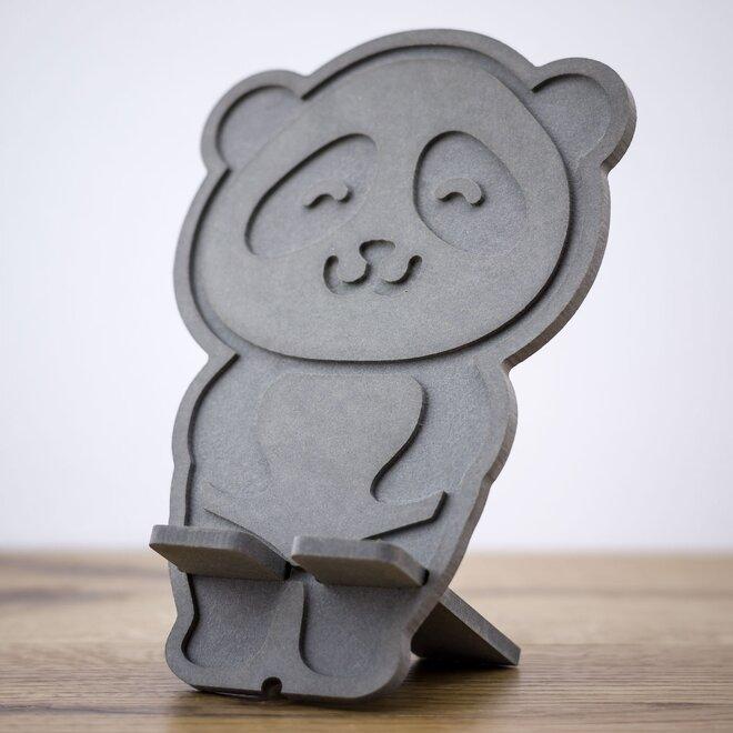 Stojan na mobil (svetlosivá panda)