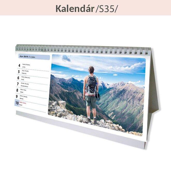 Týždenný stolný kalendár (S35)