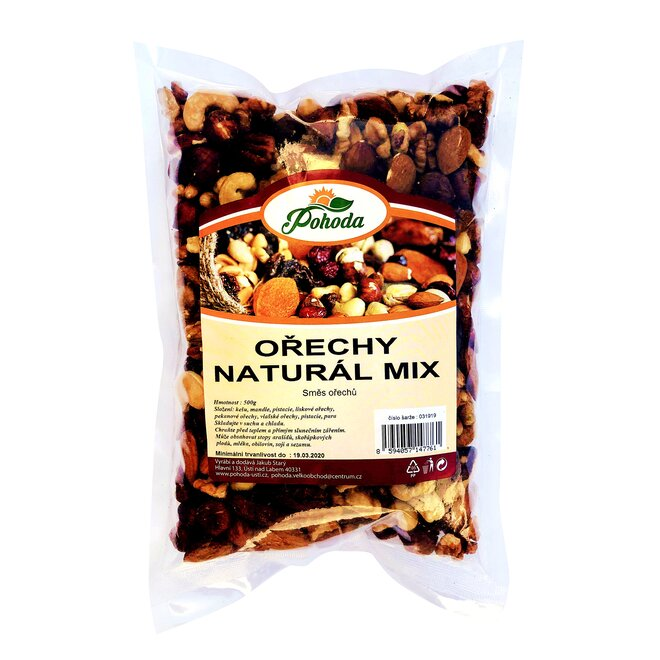 500 g Orechy MIX natural