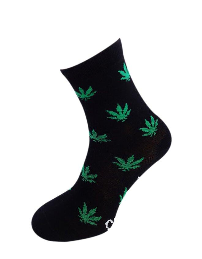 Bláznivé dámske ponožky Tráva