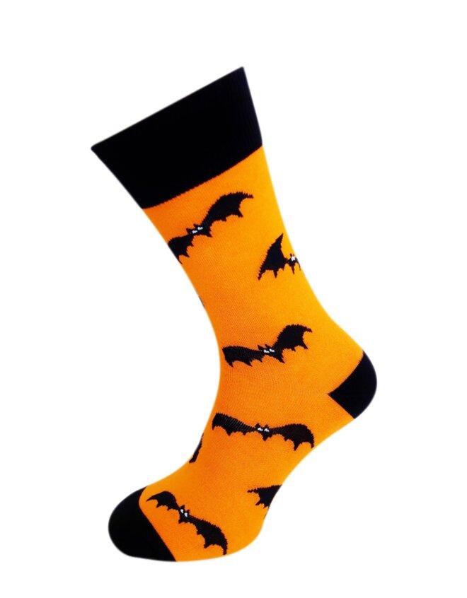 Bláznivé pánske ponožky Netopiere