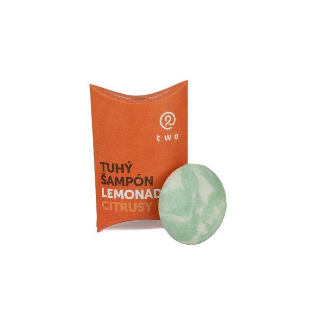 85 g Prírodný tuhý šampón LEMONADE (citrusy)