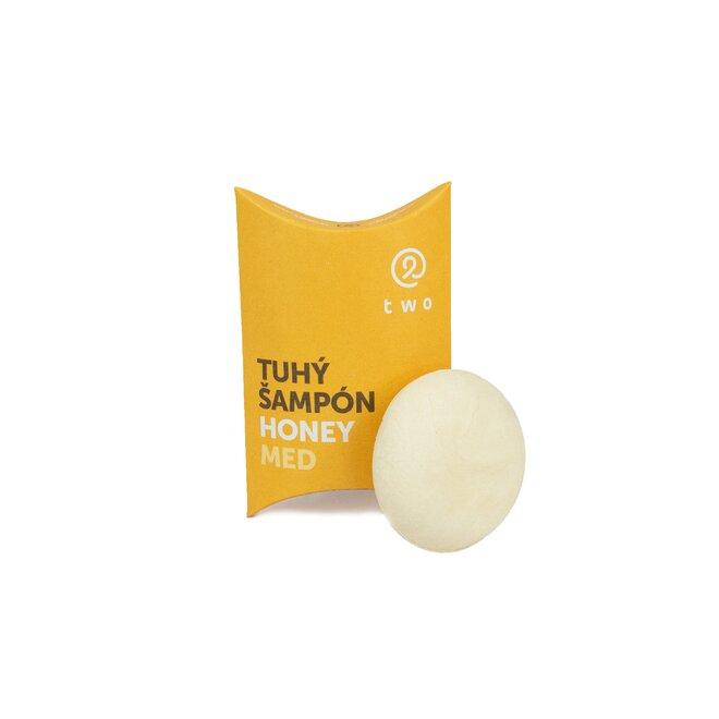 85 g Prírodný tuhý šampón HONEY (med)