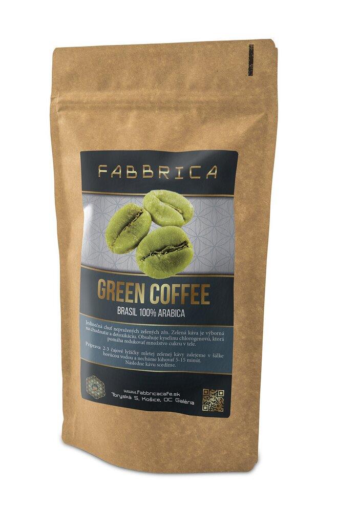 Zelená káva GREEN COFFEE - BRASIL