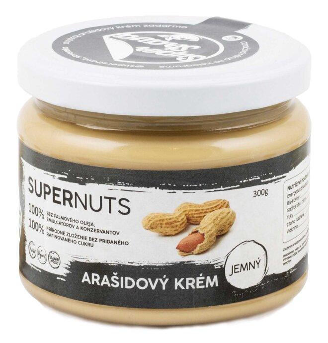 300 g Arašidový krém Supernuts (jemný)