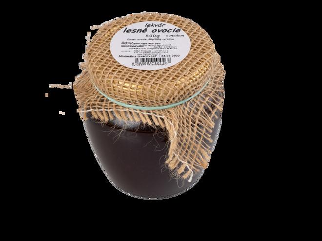 500 g Lekvár s medom (lesné ovocie)