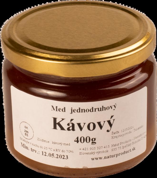 400 g Jednodruhový med (kávový)