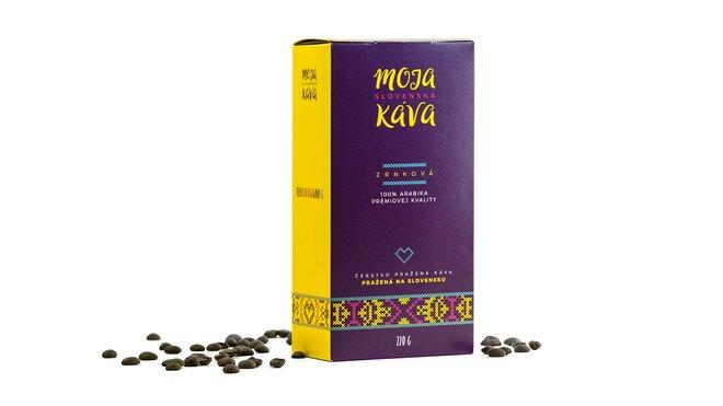 """220 g Kávy Arabiky z edície """"Moja slovenská káva"""""""